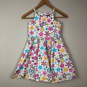 H&M Snoopy Floral Sleeveless Dress Girls 9-10 Y